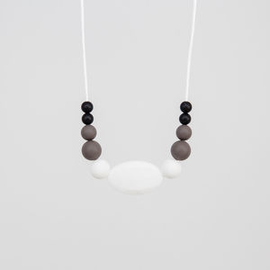 Midnight Run Teething Necklace