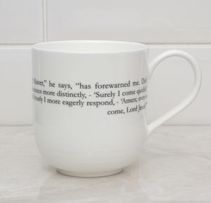 Jane Eyre Literary Bone China Cup