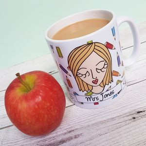 The Personalised Teacher Mug - thank you gifts