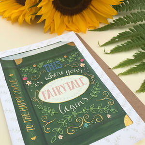 Fairytale Wedding And Engagement Card - wedding cards & wrap