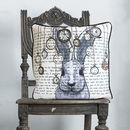 White Rabbit Alice In Wonderland Cushion