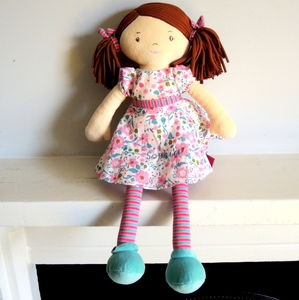 Babies' Personalised Katy Rag Doll