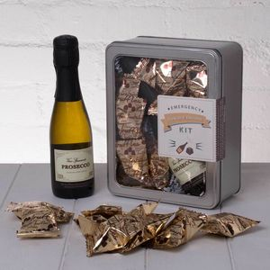 Emergency Prosecco And Chocolate Kit - love tokens