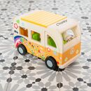 Personalised Wooden Campervan
