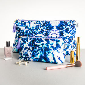 Watercolour Art Large Wash Bag