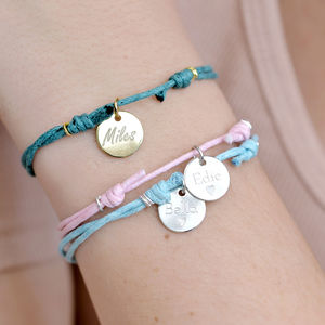 Reversible Personalised Charm Bracelet