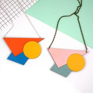Statement Geometric Necklace - necklaces & pendants