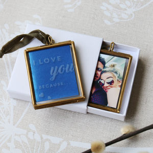 Reasons I Love You Mini Hanging Frame