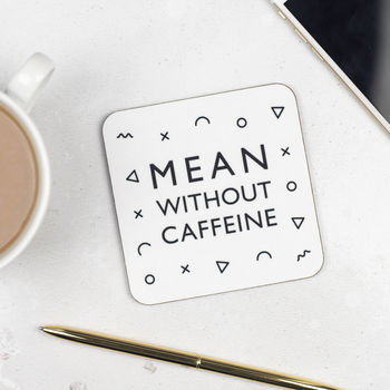 Caffeine Addict Coaster