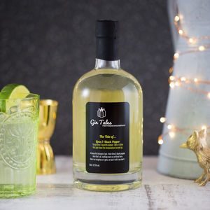 Lime And Black Pepper Gin
