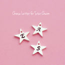 Choose letter for star charm