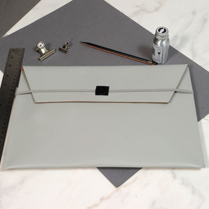 A4 Office Leather Envelope Folder - desk accessories