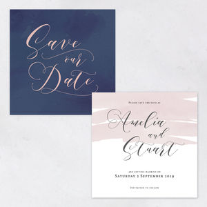 Save The Date The Amelia Collection