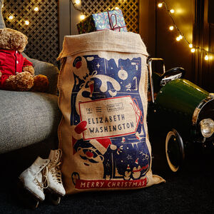 The Spilsbury Personalised Christmas Sack