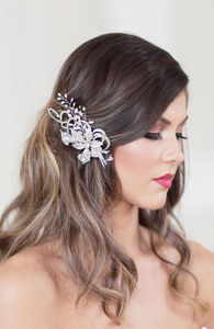 Iveta Wedding Hair Clip - bridal hairpieces
