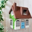 Personalised Cottage Bird Box