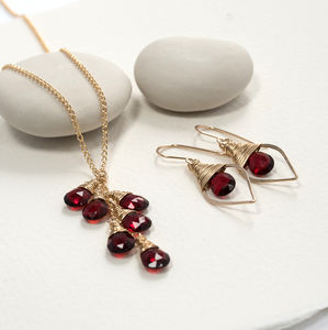 Ruby Quartz Set - jewellery sets