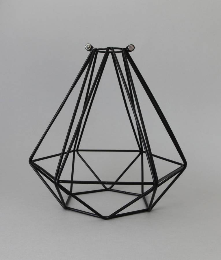 diamond light cage shade by dowsing & reynolds ...
