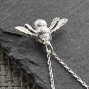 Sterling Silver Bumblebee Necklace
