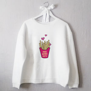 Fries Before Guys Jumper