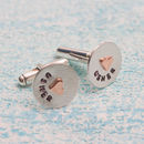 Personalied Usher Cufflinks In Greetings Box