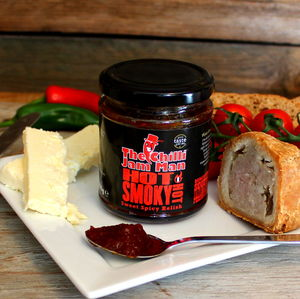Hot Smoky Chilli Jam - jams & preserves