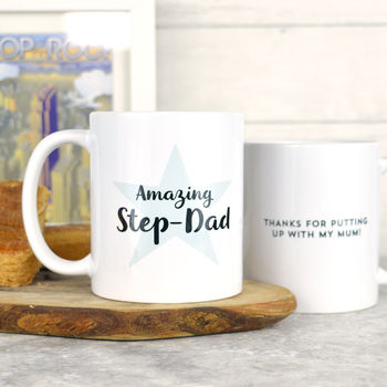 Personalised Stepdad Mug