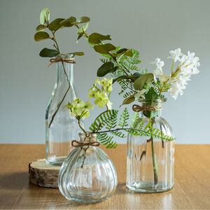 Retro Glass Bud Vases * Various Options *