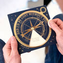 Personalised Dad Compass Messages Spinner