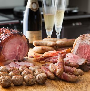 Everything But The Bird Christmas Meat Hamper