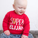 Personalised Superhero Kids T Shirt