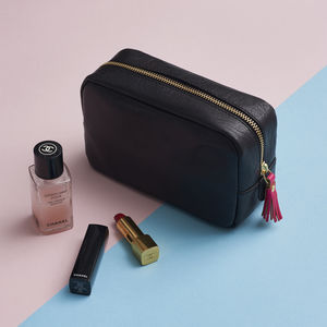 Leather Cosmetic Bag - bags & purses