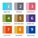 21st color chart