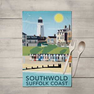 Southwold, Suffolk, Tea Towel