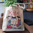 Personalised Wild Swimming Bag