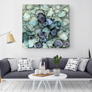 Drops Of Love, Canvas Art - paintings