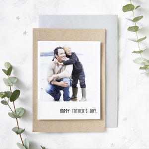 Personalised Polaroid Card - mother's day cards