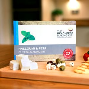 Make Your Own Halloumi And Feta Cheese Making Kit - gifts for cheese lovers