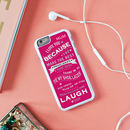Personalised 'Mummy I Love You Because' iPhone Cover