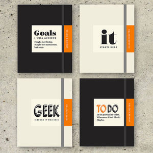 Personalised Gift Notebook - office accessories