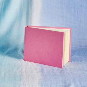Personalised Pink Photo Album - albums & guest books