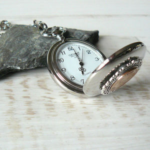 Birthday Coin Pocket Watch