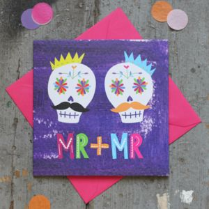Mr And Mr Gay Wedding Card - wedding cards