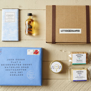 Best Of Scotland Letter Box Hamper W Single Malt Whisky - hampers