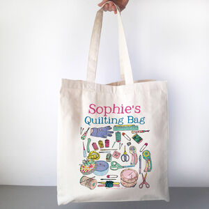 Personalised Quilting Bag