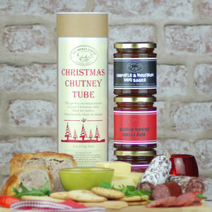 Christmas Chutney Tube Choose Your Own Gift Set - savouries
