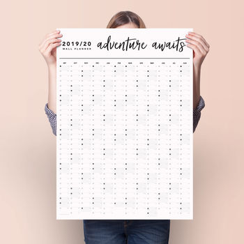 Adventure Awaits 2019 2020 Academic Year Planner