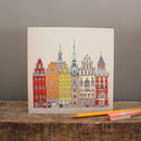 Stockholm Greetings Card