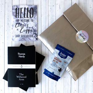 Cuppa And Classics Book Subscription - tea & infusions
