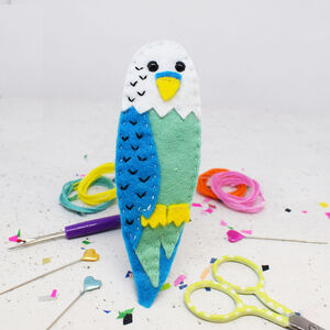 Billy Budgie Felt Sewing Kit